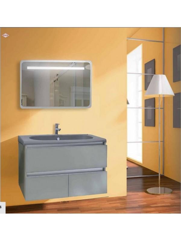 DESIGN 0005 Έπιπλο Μπάνιου 100x44