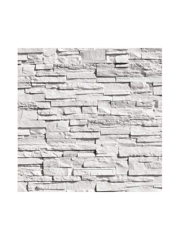 Algostone Karistos Λευκό Τεχνητή Πέτρα Επένδυσης