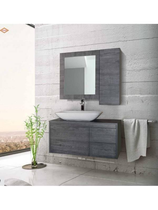 DESIGN 0004 Έπιπλο Μπάνιου 100x50