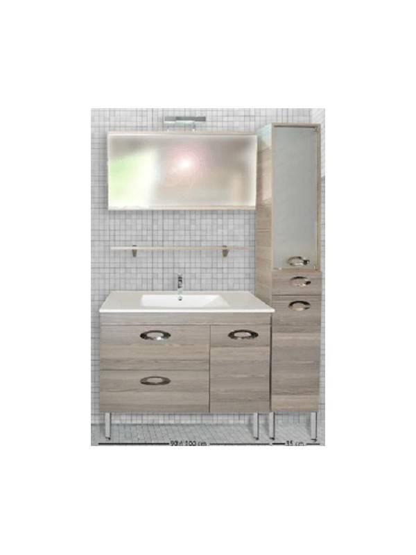 DESIGN 1320 Έπιπλο Μπάνιου MDF Δεσποτάκι 100x45