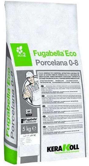 KERAKOLL FUGABELLA 08 Στόκος Πλακιδίων 5Kg Grigio Ferro 04