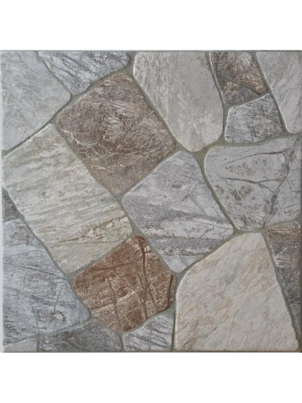 AMANOS GREY PORCELLANATO Πλακάκι Εξωτερικού Χώρου 45X45
