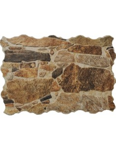 CADAQUES MARRON Πλακάκι Τύπου Πέτρας Επένδυσης 33χ55